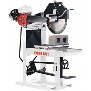 Core Cut Block Paver Saw Repair Parts
